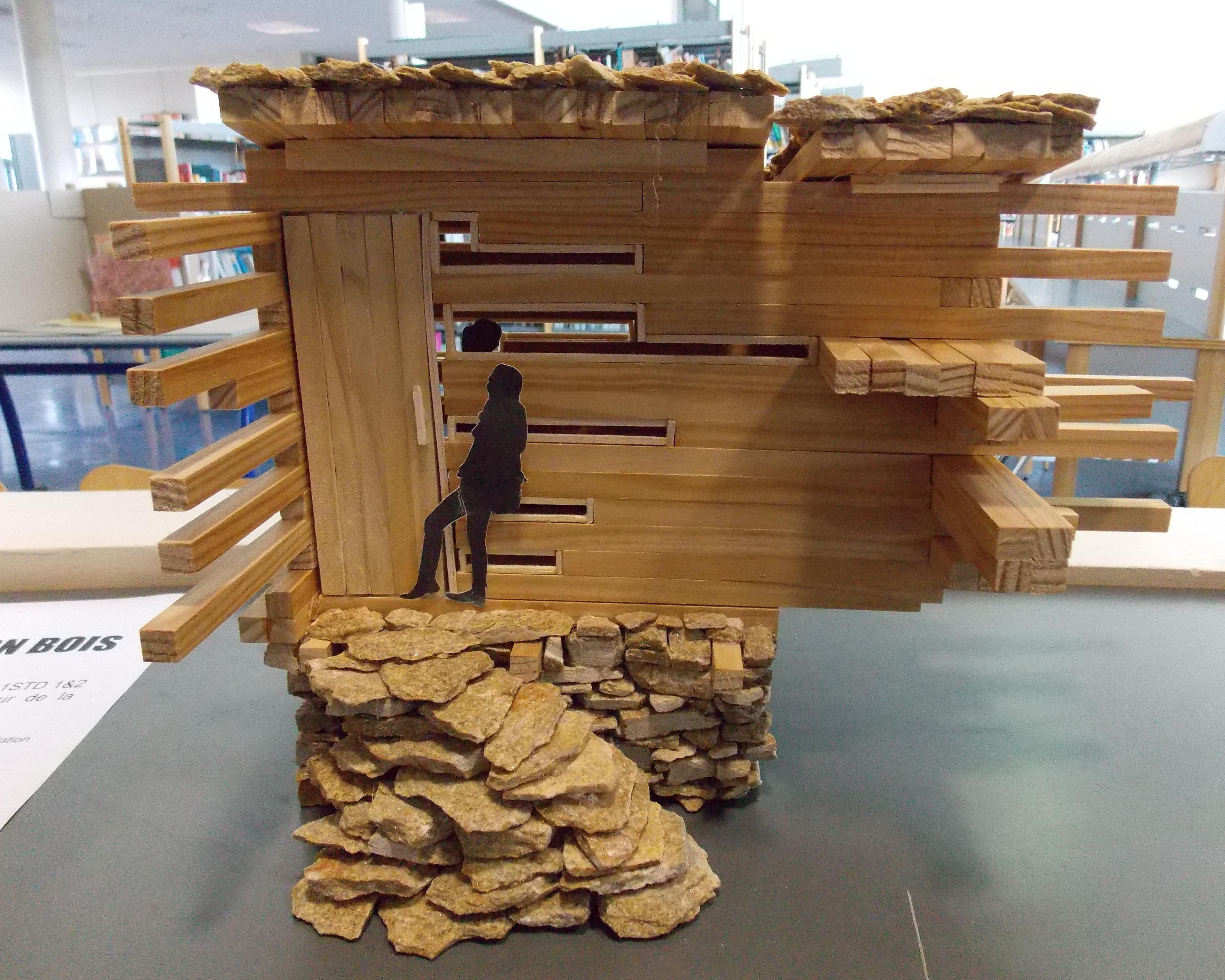 Bts construction bois for Construction bois 68